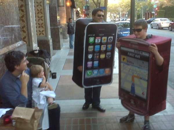 Smartphone Halloween Costumes
