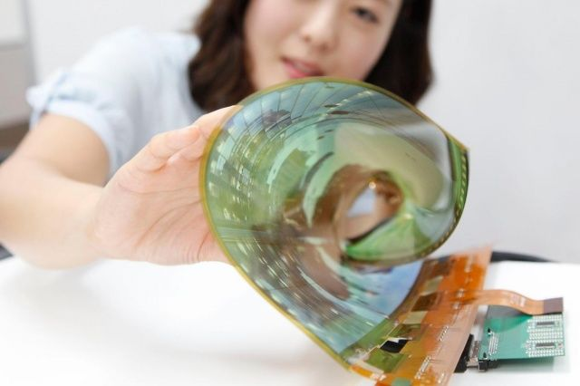 Flexible Smartphone Displays