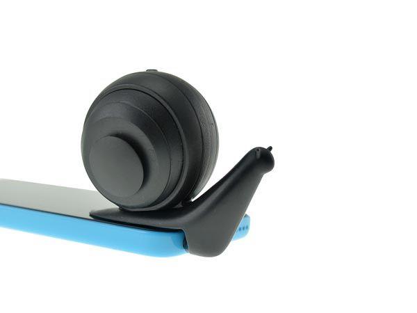 Snail-Shaped Smartphones Speakers