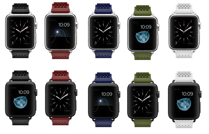 Buckle-Free Smartwatch Straps