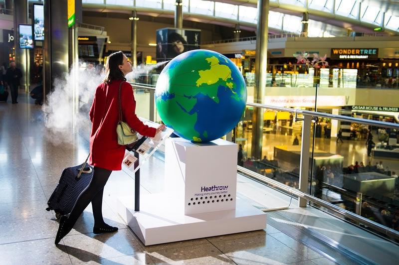 Fragrant Travel Globes