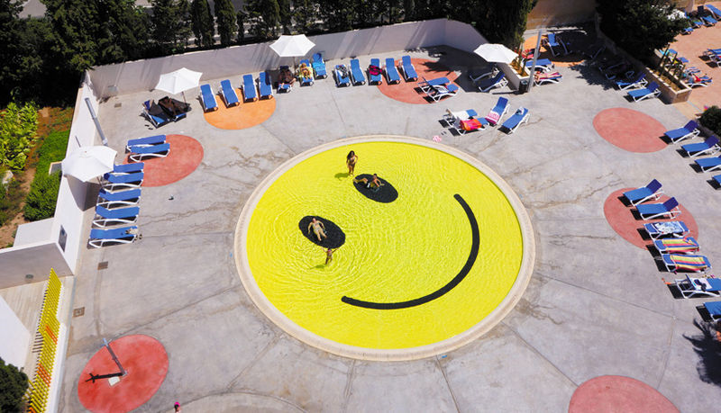 Smiley-Faced Pools