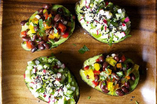 Fruit-Encased Salads