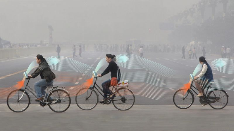 Air-Purifying Bicycles