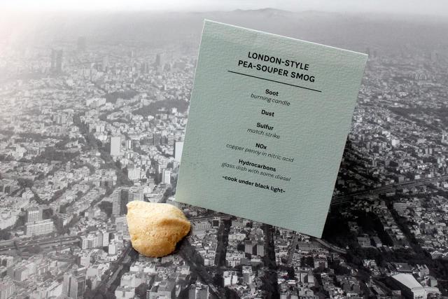 Smog-Infused Desserts