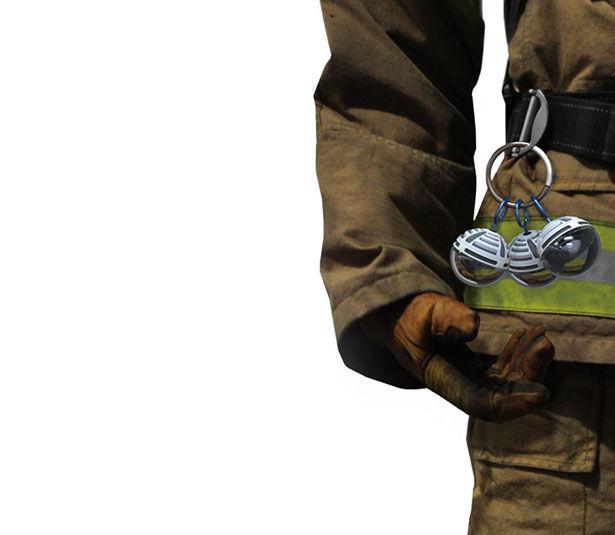 Smoke-Filtering Firefighter Gadgets