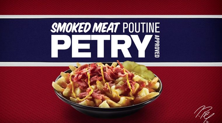 Athlete-Endorsed Poutine Ads