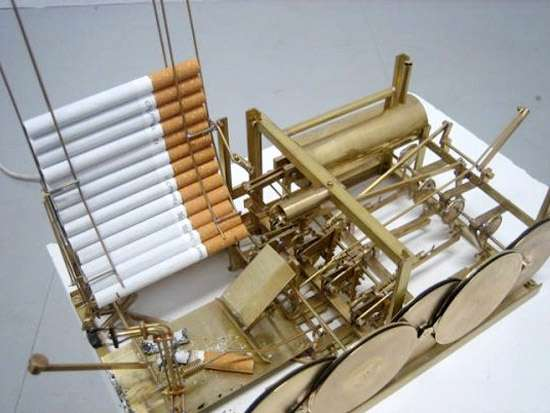 Steampunked Cigarette Devices