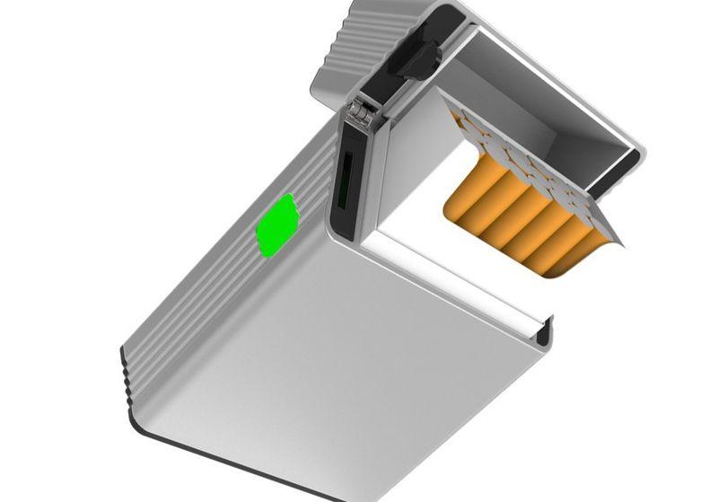Smoke-Curbing Cigarette Boxes
