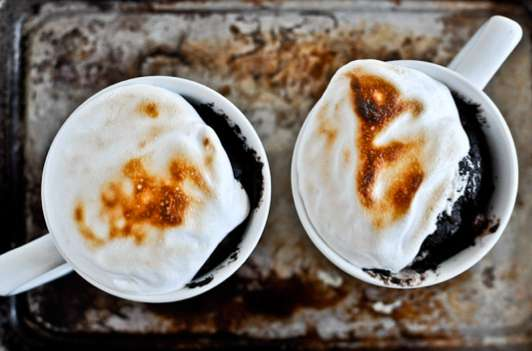 Campfire-Inspired Cup Confections