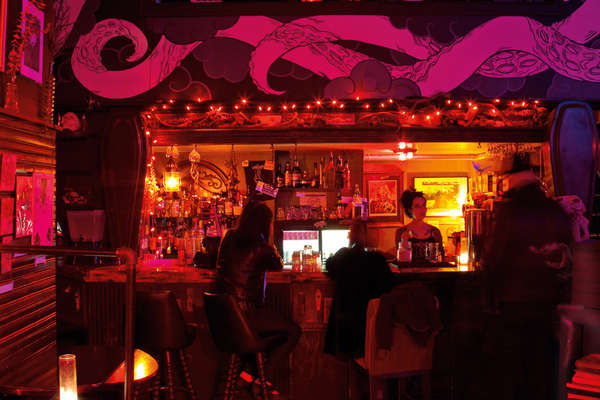 Exotic Pirate-Themed Bars