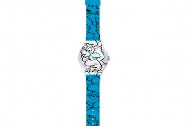 Smurfs silhouette watch