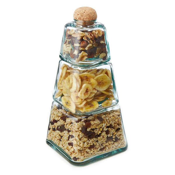 Stackable Snack Jars