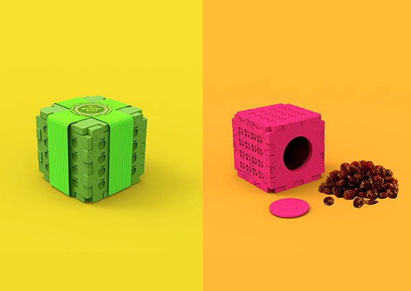 Playful Snack Blocks
