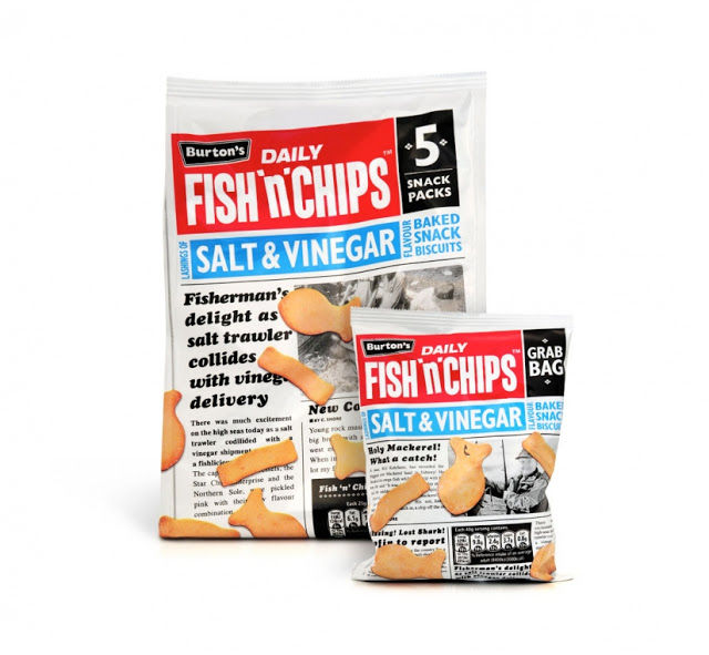 Newspaper Snack Packaging