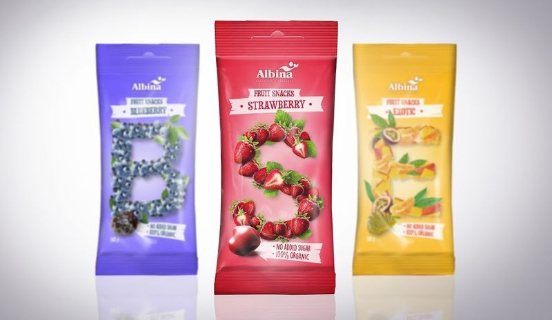 Alphabetic Candy Packaging