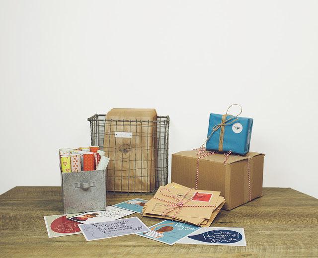 Postal Snacks Packaging