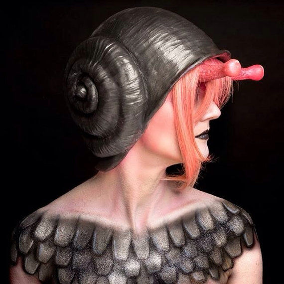 Snail Shell Headgear
