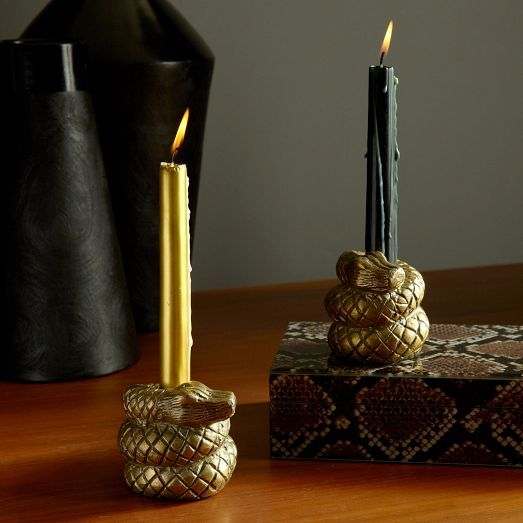 Slithering Candle Decor