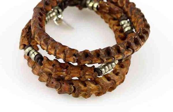 Snake Vertebrae Jewelry