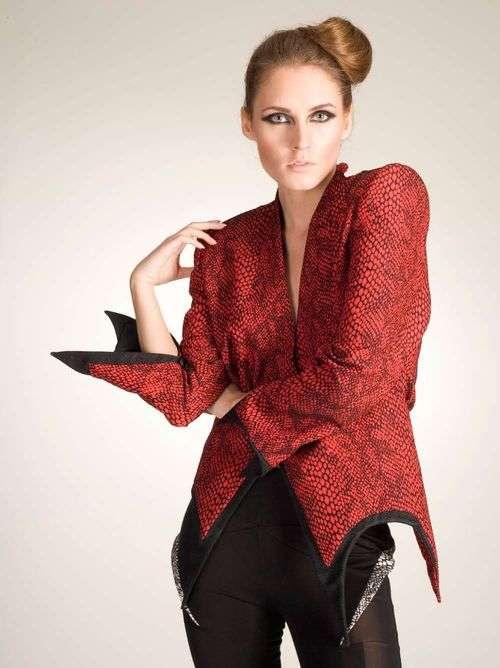 Futuristic Snakeskin Fashion