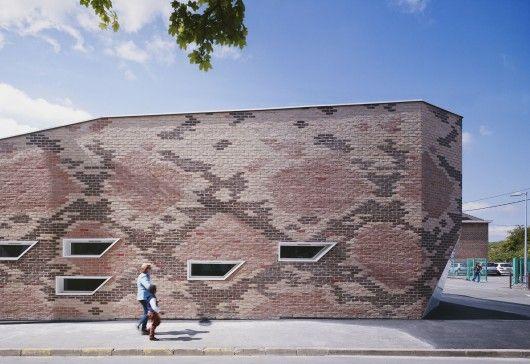 Snakeskin-Patterned Buildings