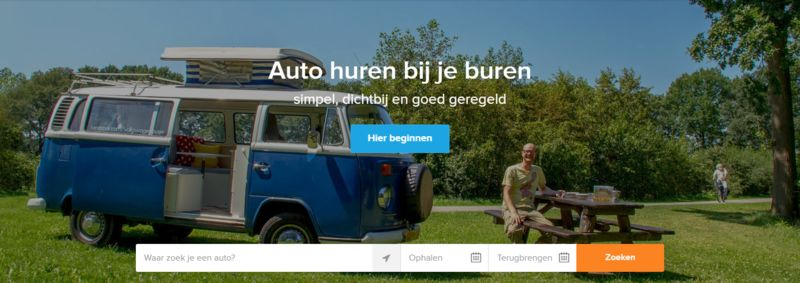 Dutch Car-Sharing Platforms