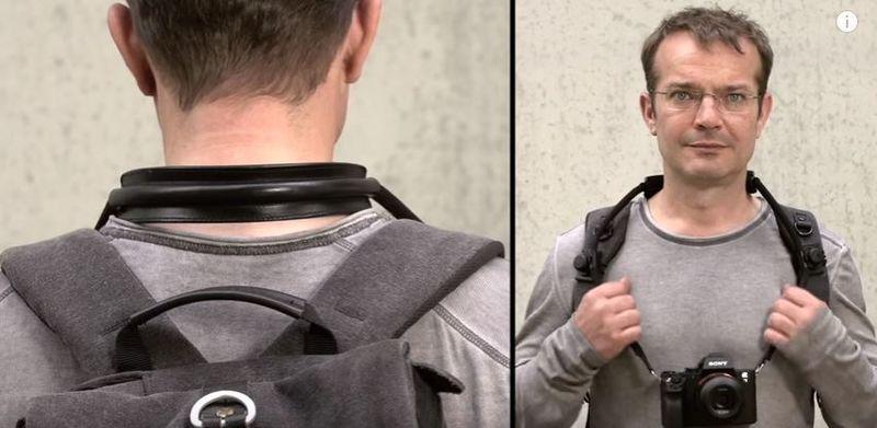 Ergonomic Traveling Camera Straps