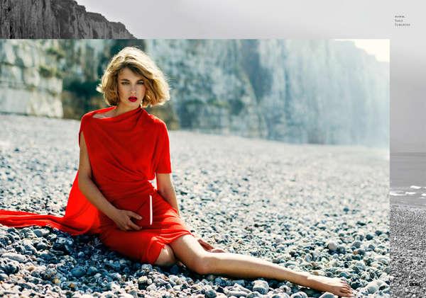 Scarlet Seaside Style