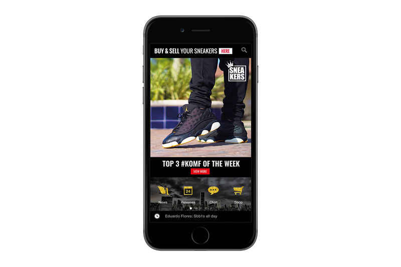 Social Sneaker Apps