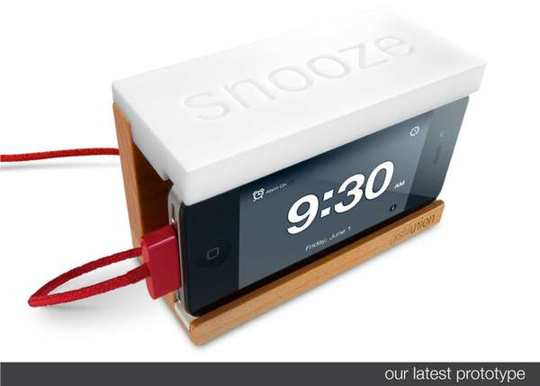Doze-Inducing Smartphone Docks
