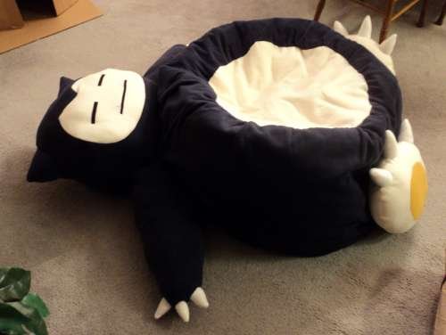 Cult Cartoon Loungers Snorlax Beanbag Chair