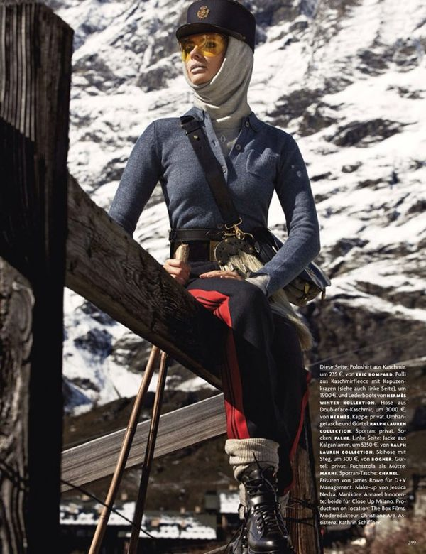 Mountainside Winter Editorials