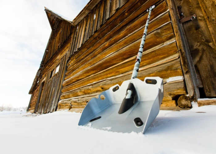 Wood-Cutting Snow Shovels