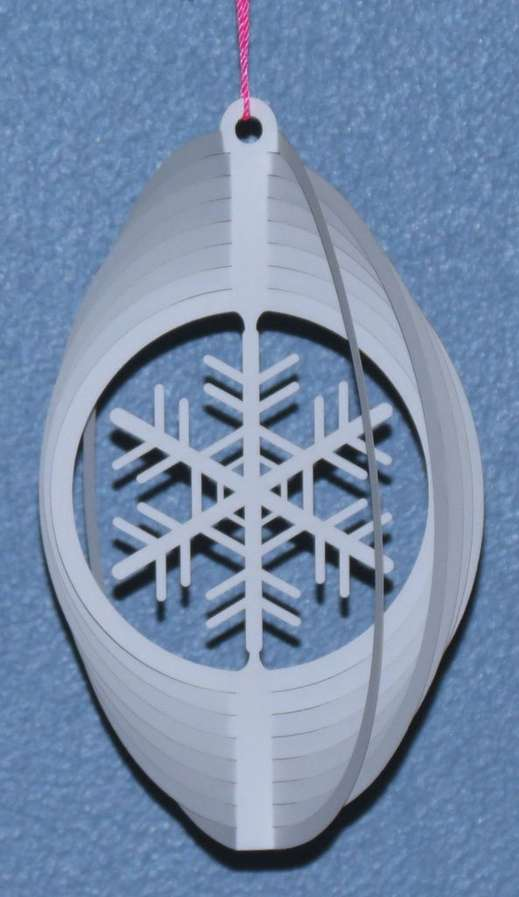 Snowflake Wind Spinner