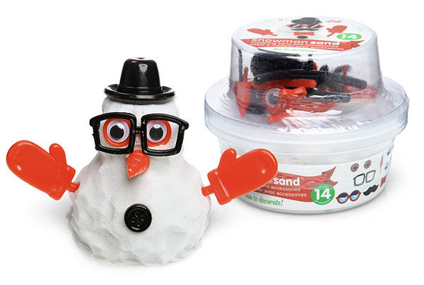 Snowman Modeling Clay