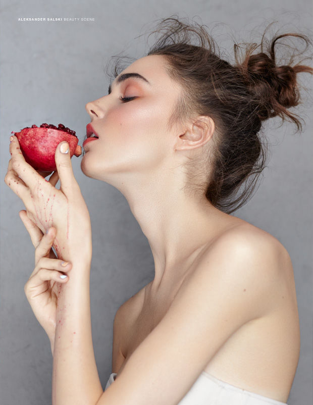 Fruitful Model Photography