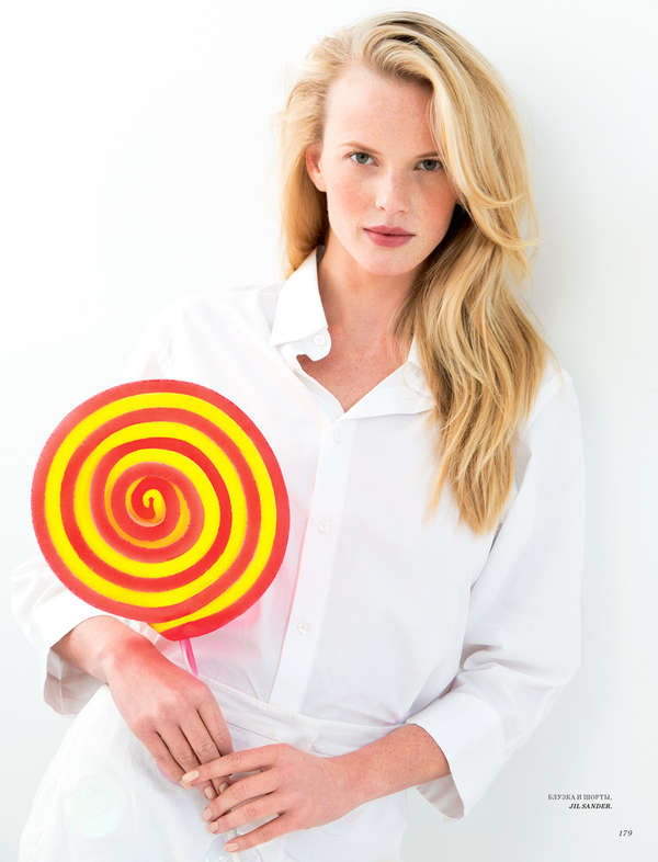 Rainbow Lollipop Editorials