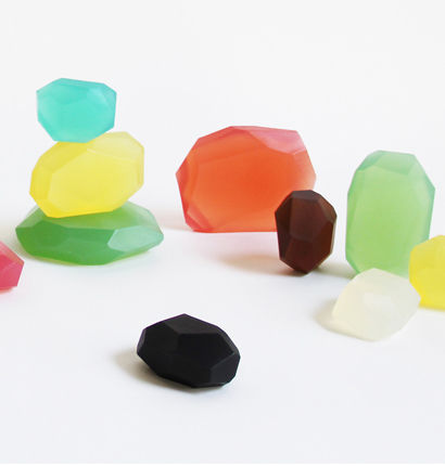 Gemstone-Inspired Soaps