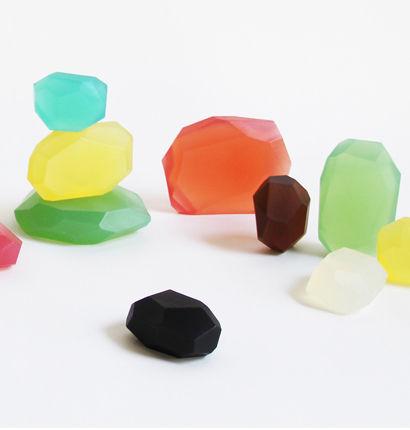 Gemstone-Inspired Soaps