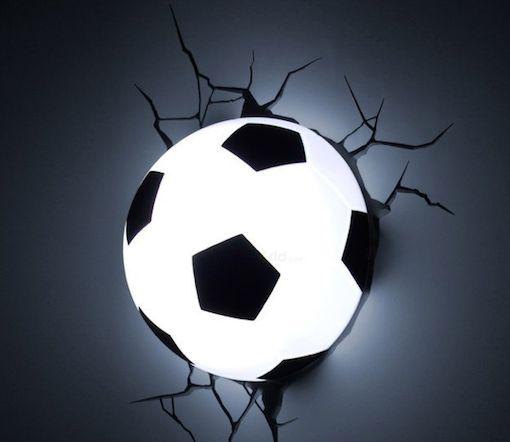 Playful Soccer-Inspired Lights
