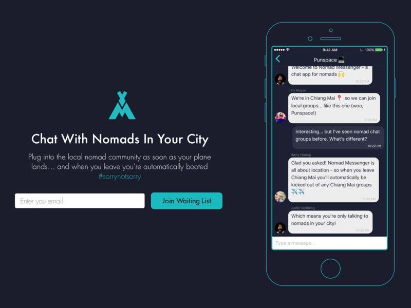 Digital Nomad Chat Apps