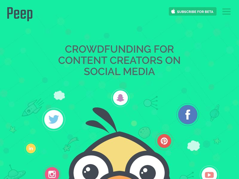 Content Creator Crowdfunding Apps