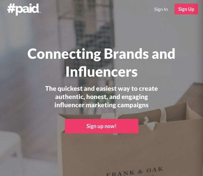 Influencer-Connecting Brands