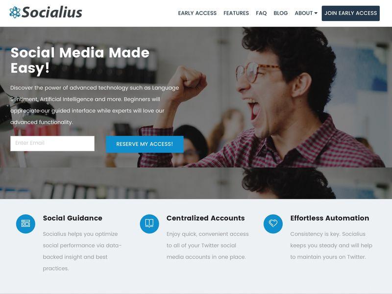 Automated Social Media Platforms