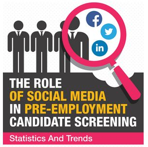 pre employment screening and social networking a In summary, social networking sites should not be part of your screening process legitimate screening companies and legal experts virtually all agree on this point there is a great deal of valuable and legally obtainable information from traditional screening methods.