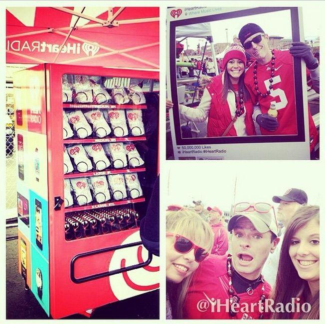 Social Media Vending Machines