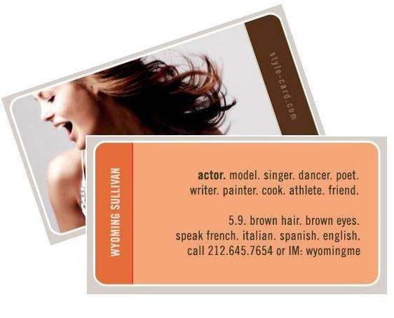 Social Network Profile Cards