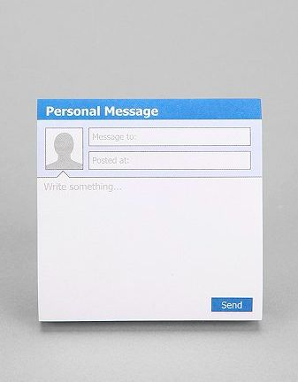 Social Media Message Notepads