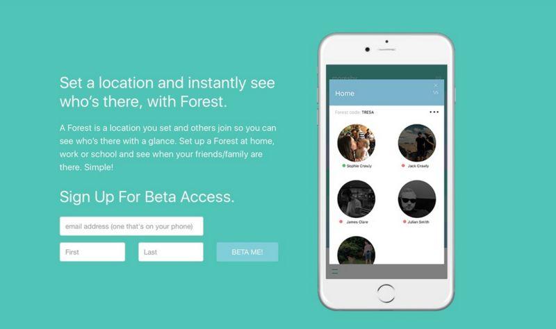 Discrete Location-Sharing Apps